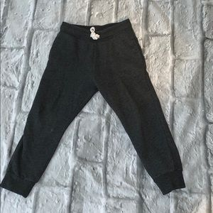 H&M Dark Gray Jogging Pants size 4-5